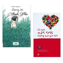 Combo 2 cuốn sách hay nhất về văn học : Đường Tới Hạnh Phúc + Có Một Mặt Trời Không Bao Giờ Tắt ( Tặng kèm Bookmark Happy Life)