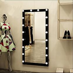 Gương đèn led đen
