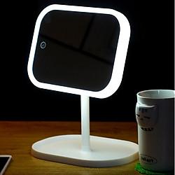 Gương trang điểm Vanity có đèn LED chính hãng Minigood Hàn Quốc DMCTB090-1 ( Màu Trắng)