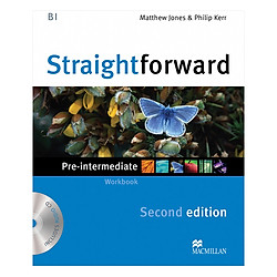 Straightforward 2E Pre-Intermediate Level: Workbook Without Key + CD