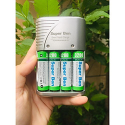 Bộ sạc pin Super Ben Japan - Hàng nhập khẩu