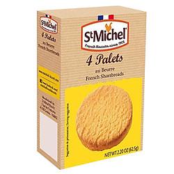 Bánh Quy Bơ St Michel Palets French Shortbreaks (62.5g)