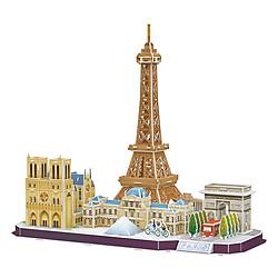 Mô Hình Giấy 3D CubicFun – City Line Paris MC254H (114 Chi Tiết)