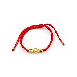 Vòng đeo tay tết dây đỏ phong thủy TD6 - Vòng tay chỉ đỏ may mắn