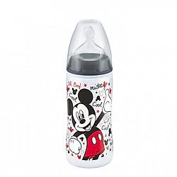 Bình sữa NUK PP 300ml cho bé >6 tháng Disney Black
