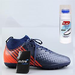 Giày bóng đá Mitre MT170434 màu tím than - Tặng bình làm sạch giày cao cấp