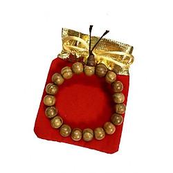 Vòng tay gỗ hương may mắn VGH01 (10li, có kèm túi gấm cao cấp)