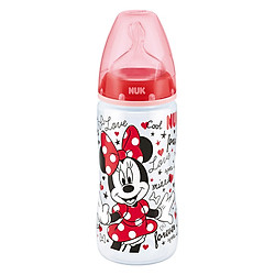 Bình Sữa NUK PP Mickey (300ml) Núm Ti Silicone S2 (Size M) NU12935 - Màu Ngẫu Nhiên