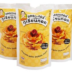 Bánh Quy giòn lát mỏng vị Sầu Riêng 50 g