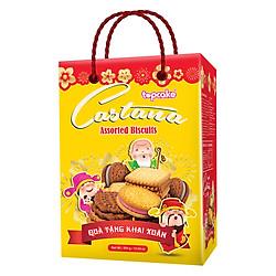 Bánh quy bơ TOPCAKE CASTANA (Hộp 300) - Phúc Lộc Thọ