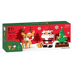 Đồ Chơi Lắp Ráp Oxford - Pixel Christmas Friends CF4071 (378 Mảnh Ghép)