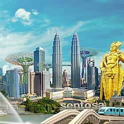 Tour Singapore - Malaysia 5N4Đ, Khách Sạn 3 - 4*, Khởi Hành Hàng Tuần