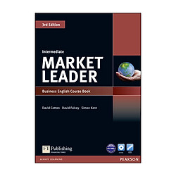 Market Leader 3Rd Edition Intermediate Course Book And Dvd-Rom Pack