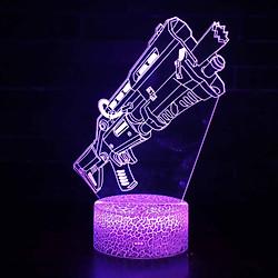 Đèn LED 3D Để Bàn Cảm Ứng Điều Khiển Từ Xa (7 Màu)