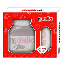 Bơ Hạt Phỉ Phết Cacao Nutella (680g) - Tặng Túi Canvas Nutella