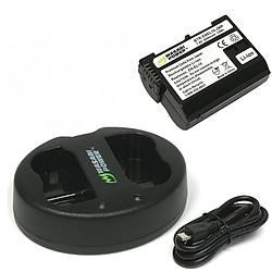 Bộ pin 01 pin Li-on + sạc Wasabi EN-EL15 Nikon - Hàng chính hãng