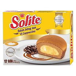 Bánh Bông Lan Kinh Đô Solite Vị Cappuccino (276g)