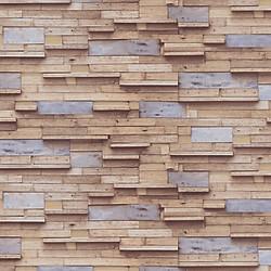 Giấy dán tường Hàn Quốc họa tiết gỗ ghép thanh kiểu 1