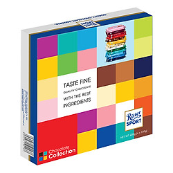 Hộp Quà Socola Ritter Sport Collection (4 Thanh x 100g)