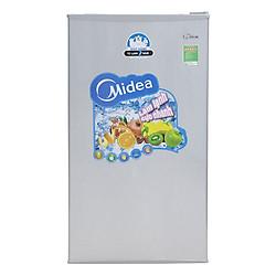 Tủ Lạnh Mini Midea HS-122SN (93L) - Xám Bạc - Hàng chính hãng