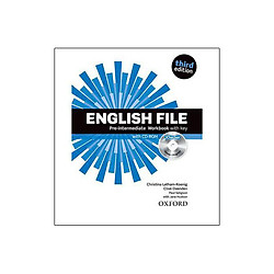 English File Pre-Intermediate Workbook with key and iChecker 3Ed