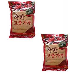 Combo 2 Gói Bột Ớt Cánh Vảy Hàn Quốc Noong Woo Chakhan (1Kg/Gói)