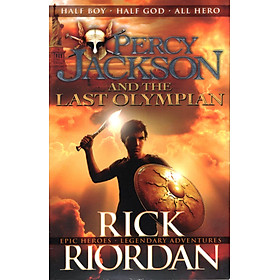 Percy Jacson And The Last Olympian (Paperback)