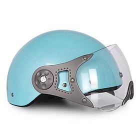 Mũ Bảo Hiểm 1 Màu Có Kính Protec Hiway HLWK