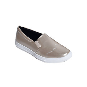 Giày Slipon Da Mờ Merlyshoes 0838 - Vàng