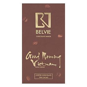 Socola Café Belvie Good Morning 70% Cacao Belvie-GMV80 (80g)