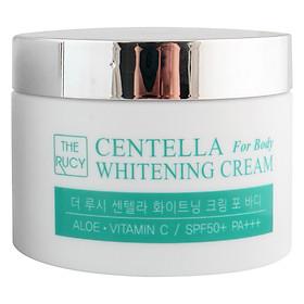 Kem Dưỡng Trắng Da Toàn Thân The Rucy Centella Whitening Cream For Body SPF50+ PA+++ LK-WCFB (100ml)