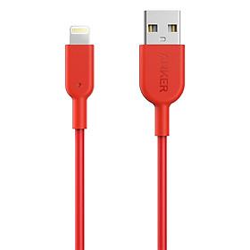 Dây Cáp Sạc Lightning Cho iPhone Anker PowerLine II 0.9m - A8432 - Hàng Chính Hãng