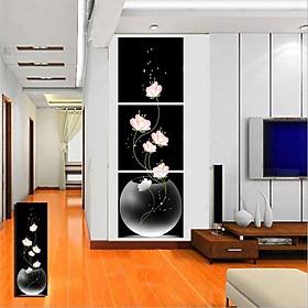 Hình đại diện sản phẩm Tranh Ghép Nghệ Thuật Hoa Giai Nhân Binbin TNT97 (30 x 30 cm)