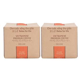 Hình đại diện sản phẩm Bộ 2 Túi Cà Phê Deluxe Hello 5 Coffee (250g/Túi)