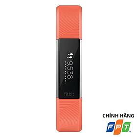 Vòng Đeo Tay Thông Minh Fitbit Alta HR Coral Silver - Hàng Chính Hãng