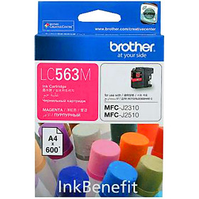 Brother LC-563M Ink Cho MFC-J2310/J2510/J3520/J3720 (Đỏ)