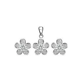 Bộ Trang Sức Bạc Cherry Blossom Eropi 101070212