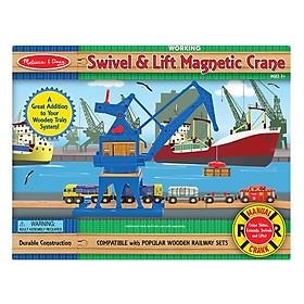 Đồ Chơi Gỗ - Cần Trục Cầu Cảng Melissa & Doug MB622