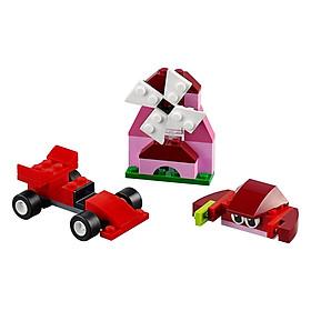 Mô Hình Lego Classic - Lắp Ráp Classic Màu Đỏ 10707 (55 Mảnh Ghép)