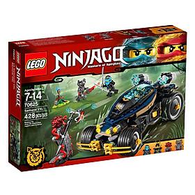 Mô Hình Đồ Chơi Lego Ninjago - Xe Chiến Đấu Samurai Vxl 70625 (428 Chi Tiết)