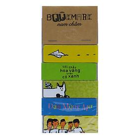 Bộ 5 Bookmark Nam Châm Kính Vạn Hoa - Tác Phẩm Của Nguyễn Nhật Ánh (Bìa Mới)
