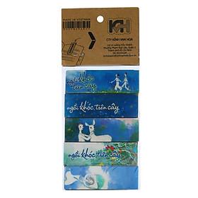Bộ 5 Bookmark Nam Châm Kính Vạn Hoa - Ngồi Khóc Trên Cây