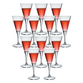 Bộ 12 Ly Rượu Thủy Tinh Wine Ypsilon Bormioli Rocco 124470MN5021990 (220ml / Ly)