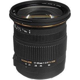 Lens Sigma 17-50 f/2.8 EX DC HSM OS for Canon