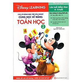 Các Kĩ Năng Học Tập Của Disney - Cùng Học Kỹ Năng Toán Học - Tập 2