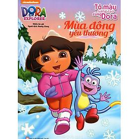 Tô Màu Sáng Tạo Cùng Dora - Mùa Đông Yêu Thương