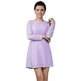 Đầm Suông Ren GaiA DA2 - Tím