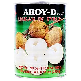 Trái Nhãn Ngâm Đường Aroy-D 565g