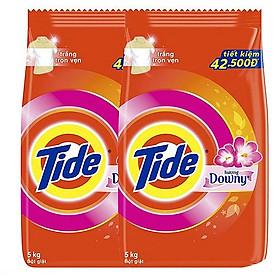 Combo 2 Bột Giặt Tide Hương Downy 5kg