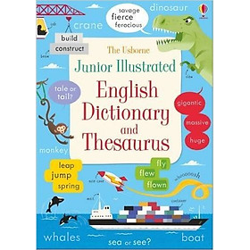 Usborne Junior Illustrated English Dictionary and Thesaurus